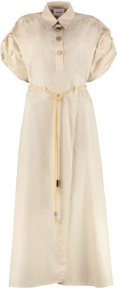 Nanushka Hanna Cotton-poplin Shirtdress