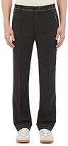 Maison Margiela Men's Basting-Stitched Wool-Blend Trousers