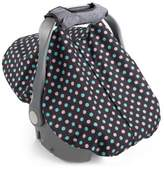 Summer Infant 2-in-1 Carry & Cover Infant Car Seat Cover in Black Dots