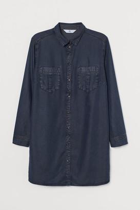 H&M H&M+ Lyocell Shirt Dress