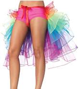 NAVAdeal Organza Teen & Adult Rainbow Dance Bustle Costume