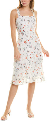Sam Edelman Stripe Dolby Midi Dress