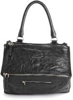 Givenchy 'Mini Pepe Pandora' Leather Shoulder Bag - Black