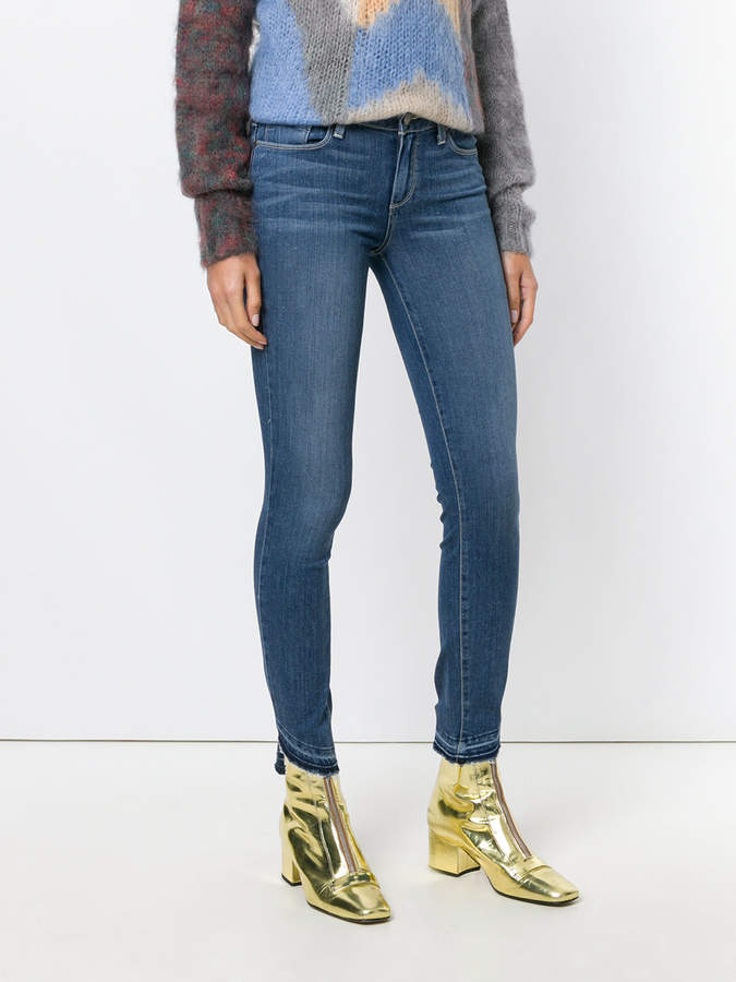Paige curved cuffs jeans