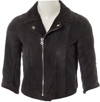 Heimstone Grey Suede Jacket for Women