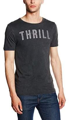 Jack and Jones Men's 12108309 Crew Neck Short Sleeve T - Shirt - Grey