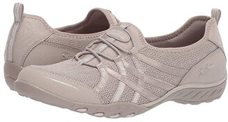 Skechers Breathe-Easy - Envy Me (Taupe) Women's Shoes