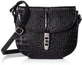 L.Credi Women's Cross-Body Bag Black black