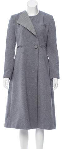 Tata-Naka Tata Naka Asymmetrical Knee-Length Coat w/ Tags