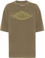 Nike Jordan printed cotton T-shirt
