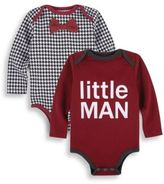 Andy & Evan Baby's Two-Piece Little Man and Houndstooth Onesie Set