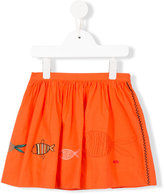 Rykiel Enfant - embroidered fish skirt - kids - Cotton - 4 yrs