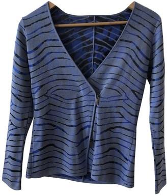 Armani Collezioni Blue Knitwear for Women