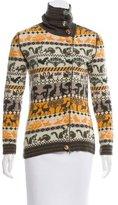Stella McCartney Wool Zip-Up Sweater