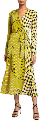 Diane von Furstenberg Tilly Midi Wrap Dress