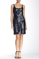 Adrianna Papell Full Sequin Tank Style Dress 41886030