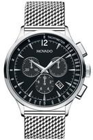 Movado Men's 'Circa' Chronograph Mesh Strap Watch, 42Mm
