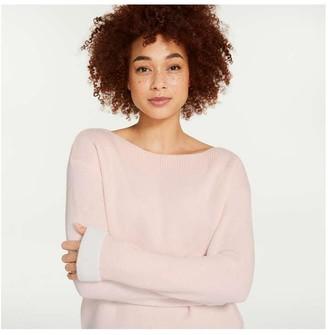 Joe Fresh Women's Super Soft Sweater, Pale Pink (Size L)