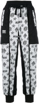 Kokon To Zai logo embroidered trousers - women - Cotton - S