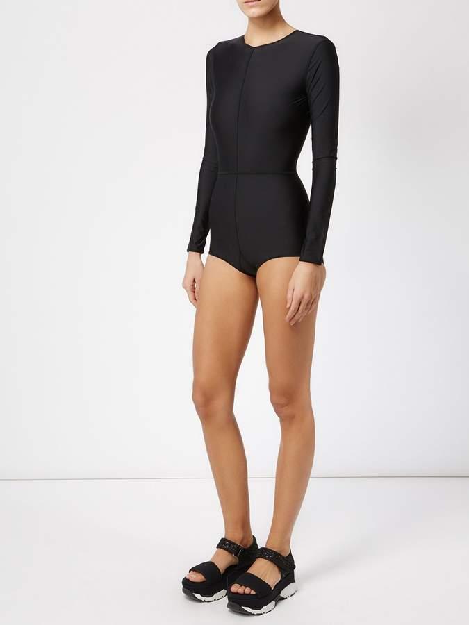 Ann Demeulemeester panelled bodysuit