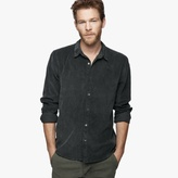 James Perse Standard Fine Cord Shirt