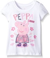 Peppa Pig Little Girls' Puddle Tee