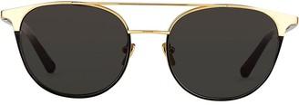 Linda Farrow 421 C2 Browline sunglasses