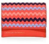 Loeffler Randall Rickrack Stripe Wallet