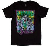 Novelty T-Shirts Classic Joker Short-Sleeve Crewneck Tee