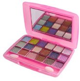 La Femme Pink 18 Colour Powder Shimmer Eyeshadow Palette by