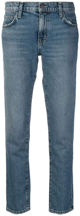 Current/Elliott straight-leg jeans