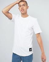 adidas T-Shirt With Curved Hem B47250