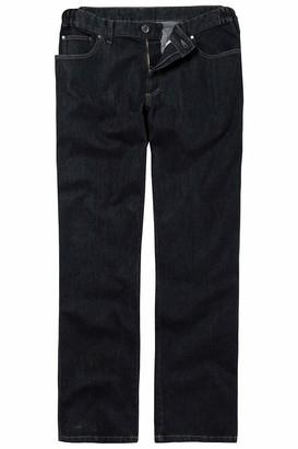 JP 1880 Men's Big & Tall Comfort Fit Adjustable Waist Jeans Black 56 702468 11-56