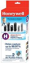 Kaz Inc Honeywell True HEPA Air Purifier Replacement Filter 2 Pack, HRF-H2 / Filter (H)