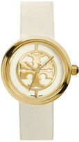 Tory Burch Reva 36mm Stainless Steel Watch, Ivory