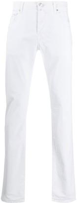 Jacob Cohen Handkerchief Slim-Fit Jeans