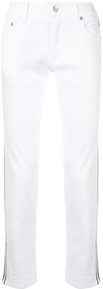 Dolce & Gabbana Stretch Side Stripe Jeans