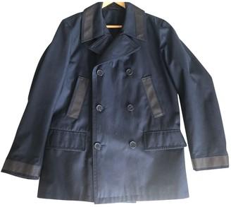 Hermes Navy Cotton Coats