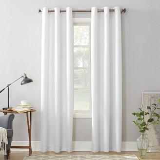 No. 918 1-Panel Montego Casual Textured Grommet Window Curtain