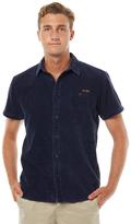 The Critical Slide Society Ep Cord Ss Mens Shirt Blue