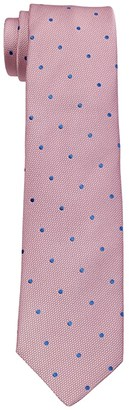 Eton Dotted Silk Tie (Pink) Ties