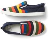 Gap Crazy stripe slip-on sneakers