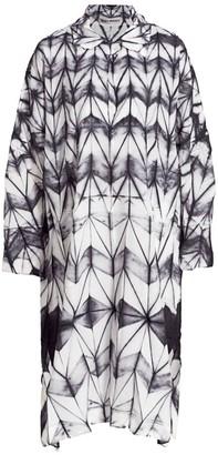 Issey Miyake Itajime Midi Dress