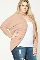 Forever 21 FOREVER 21+ Plus Size Marled Cardigan