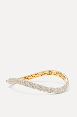 Anita Ko 18-karat Gold Diamond Bangle - one size