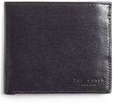 Ted Baker Men's Twopin Leather Bifold Wallet - Black