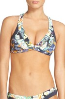 Maaji Women's Disco Nights Reversible Bikini Top