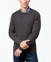 Tasso Elba Men's Chevron Elbow-Patch Sweater, Only at Macy's