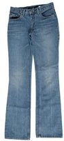 Marc Jacobs Mid-Rise Straight-Leg Jeans