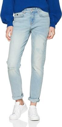 H.I.S Women's Johnny Boyfriend Jeans